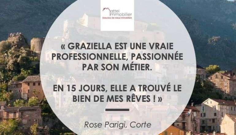 Rose nous raconte son expérience avec Mattei Immobilier 😊