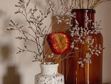 Fleurs séchées : pour un intérieur stylé toute l'année 💐